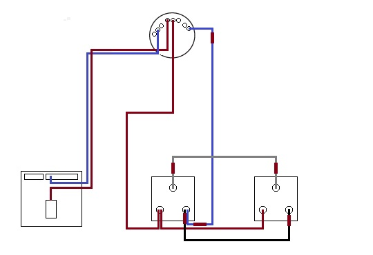 Two way electrical switch wiring diagram on intermediate switch wiring diagram on 2- Way Switch Electrical Wiring on 3- Way Switch Diagram on Three-Way Electrical Switch Wiring Diagram on two way electrical switch wiring diagram #9
